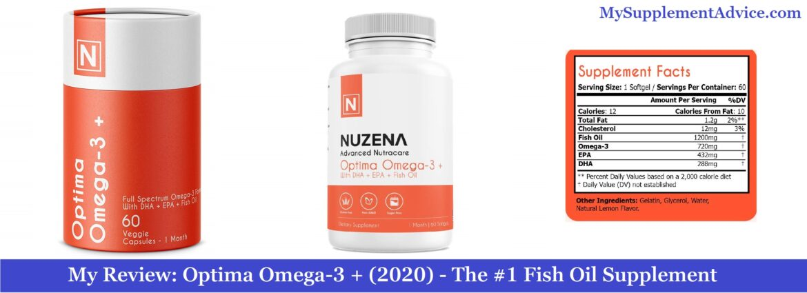 My Review: Optima Omega-3 + (2020) – The #1 Fish Oil Supplement