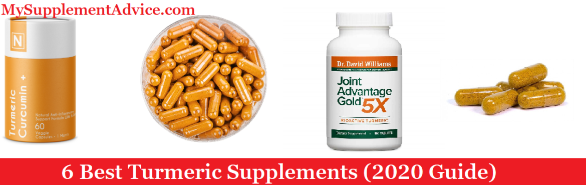 6 Best Turmeric Supplements On The Market (2020 Reviews)