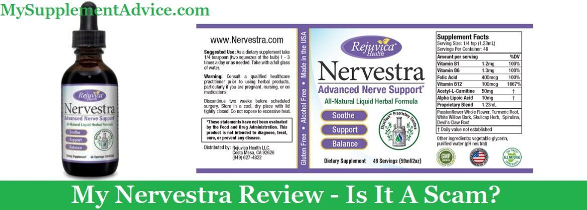 My Nervestra Review (2020) – Scam Or Does It Work?