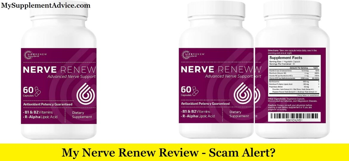 My Nerve Renew Review (2020) - Scam Alert?