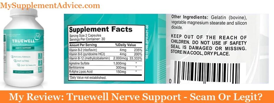 My Review: Truewell Nerve Support (2020) – Scam Or Legit?