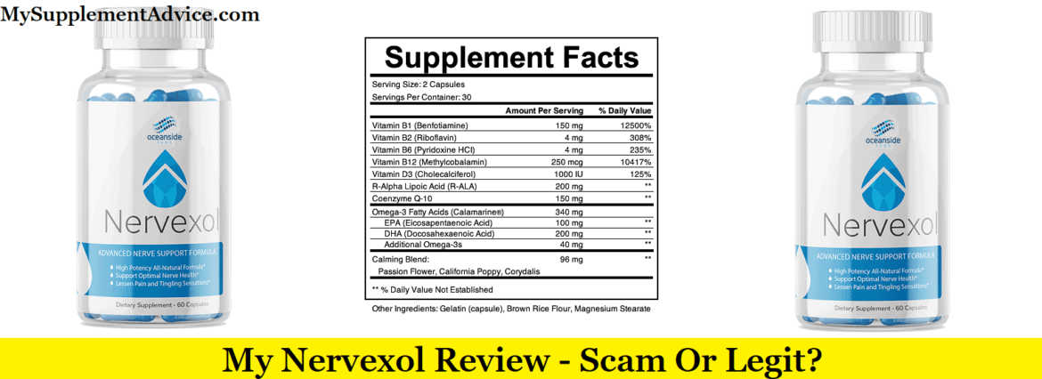 My Nervexol Review (2020) – Scam Or Legit?