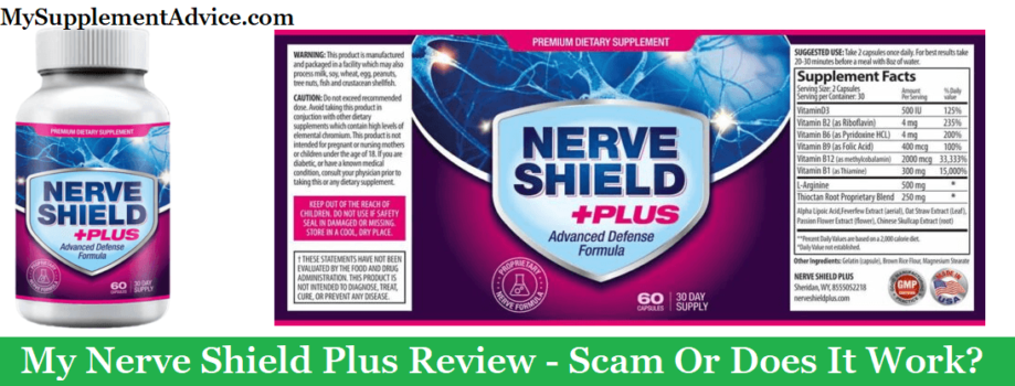 My Nerve Shield Plus Review (2021) – Scam Or Does It Work?