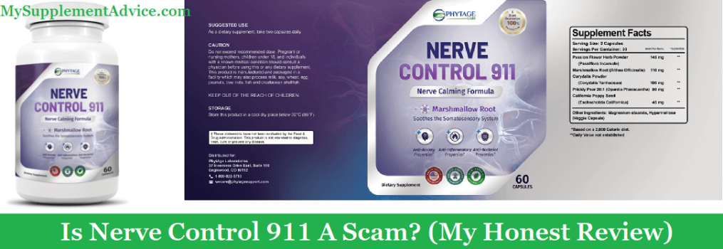 Is Nerve Control 911 A Scam? (My 2020 Review)