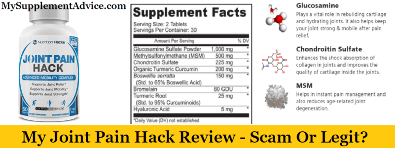 My Joint Pain Hack Review (2020) – Scam Or Legit?