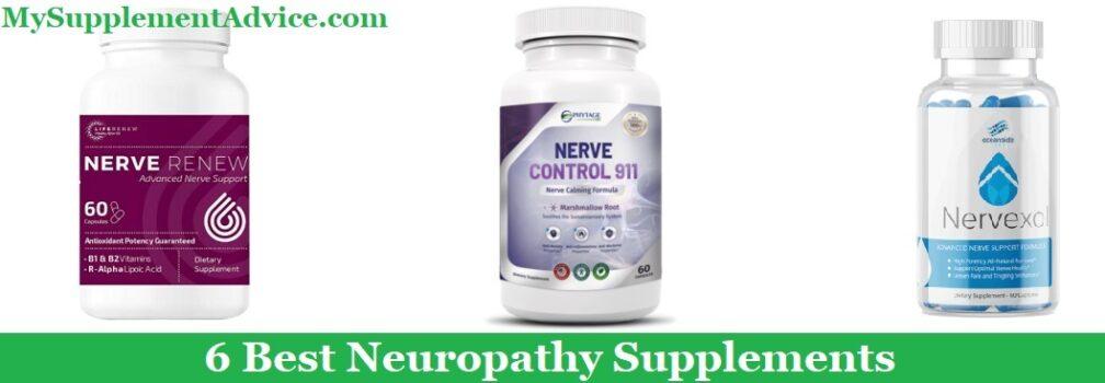 6 Best Neuropathy Supplements (2021 Guide)