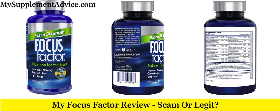 My Focus Factor Review (2020) – Scam Or Legit?