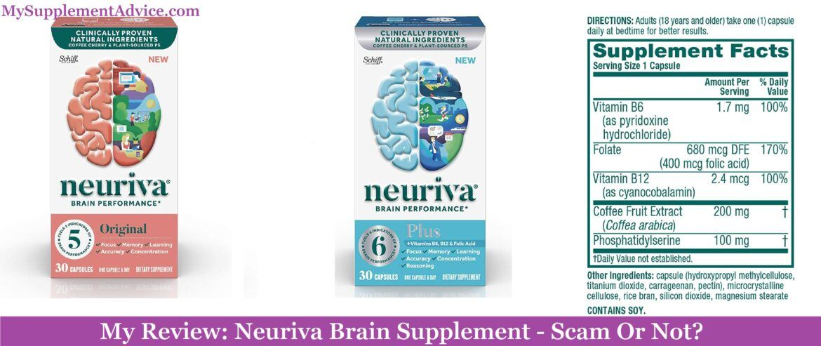 My Review: Neuriva Brain Supplement (2020) – Scam Or Not?