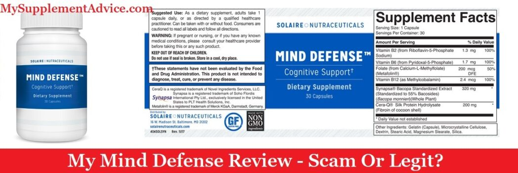 My Mind Defense Review (2020) – Scam Or Legit?