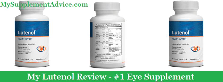 My Lutenol Review (2020) - #1 Eye Supplement