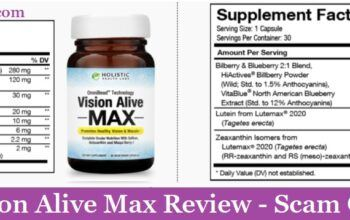 My Vision Alive Max Review (2020) - Scam Or Not?
