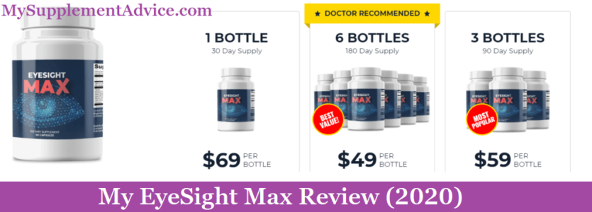 My EyeSight Max Review (2021) – Scam Or Does It Work?
