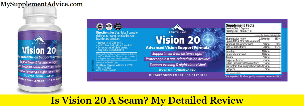 Is Vision 20 A Scam? My Detailed Review (2020)