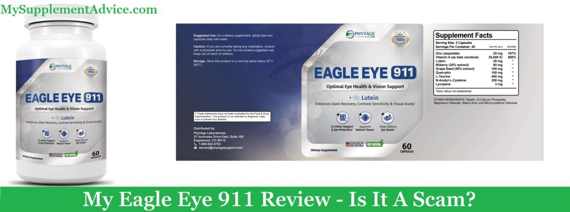 My Eagle Eye 911 Review (2021) – Is It A Scam?