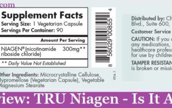 My Review: TRU Niagen - Is It A Scam? (2020)