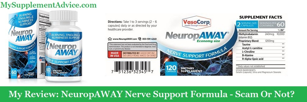 My Review: NeuropAWAY Nerve Support Formula (2021) – Scam Or Not?