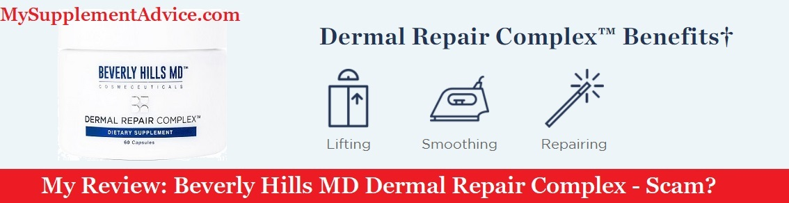 My Review: Beverly Hills MD Dermal Repair Complex (2021) – Scam?