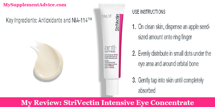 My Review: StriVectin Intensive Eye Concentrate (2021)