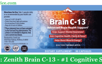 My Review: Zenith Brain C-13 (2021) - #1 Cognitive Supplement