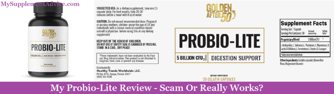 My Probio-Lite Review (2021) – Scam Or Really Works?