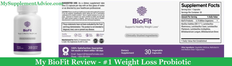 My BioFit Probiotic Review (2021) – Is It A Scam?