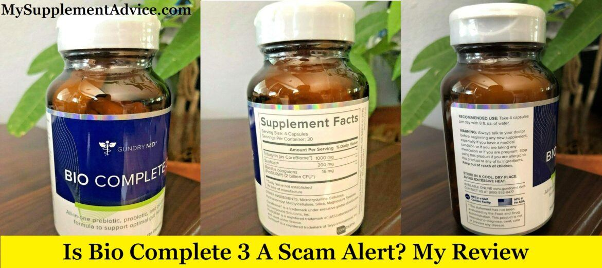 Is Bio Complete 3 A Scam Alert? My Review (2021)