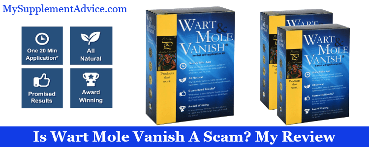 Is Wart Mole Vanish A Scam? My Review (2021)