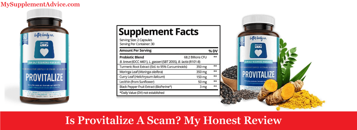 Is Provitalize A Scam? My Honest Review (2021)