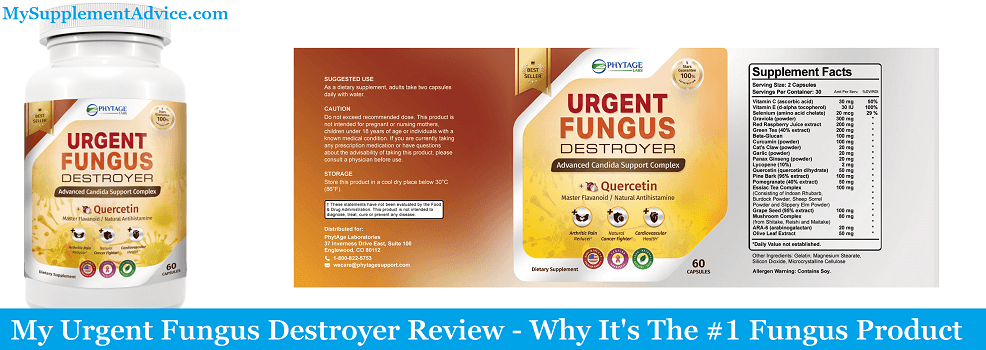 My Urgent Fungus Destroyer Review (2021) – Is It A Scam?