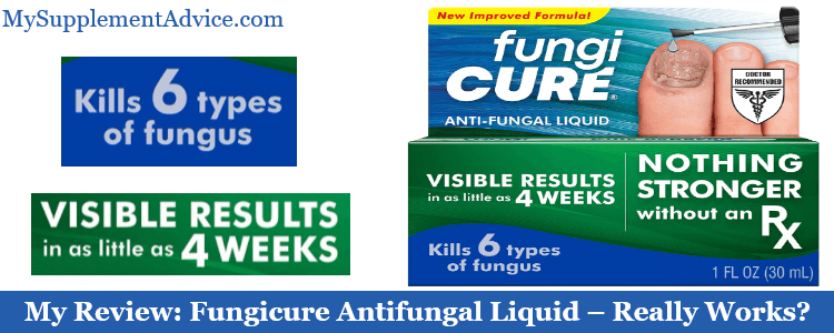My Review: Fungicure Antifungal Liquid (2021) – Really Works?