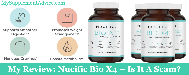 My Review: Nucific Bio X4 (2021) – Is It A Scam?