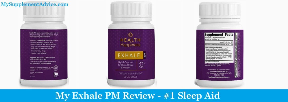 My Exhale PM Review (2021) – #1 Sleep Aid