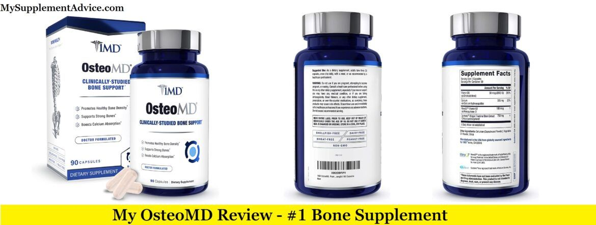 My OsteoMD Review (2021) – Is It A Scam?