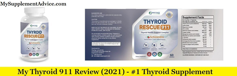 Thyroid 911 Review (2021) – #1 Thyroid Supplement