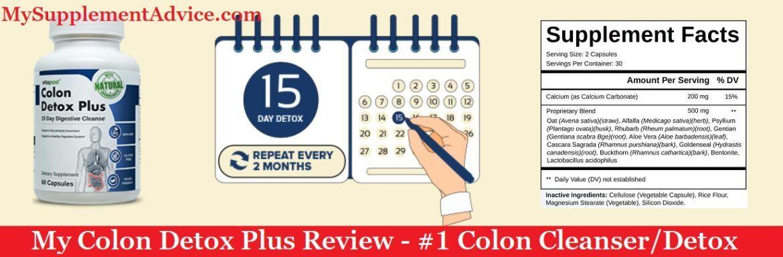My Colon Detox Plus Review (2021) – Best Colon Cleanser