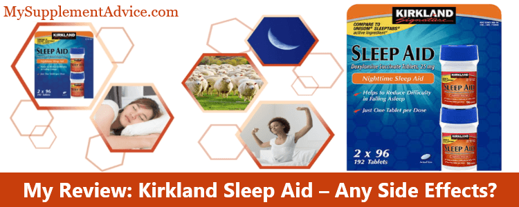My Review: Kirkland Sleep Aid (2021) – Any Side Effects?